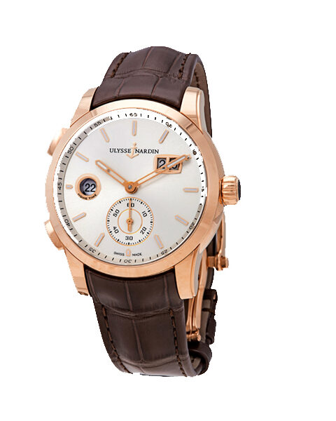 Ulysse Nardin Pre- Owned Dual Time Manufacture 42mm Men's Watch