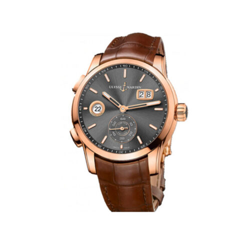 ULYSSE NARDIN CLASSIC DUAL TIME AUTOMATIC PRE-owned