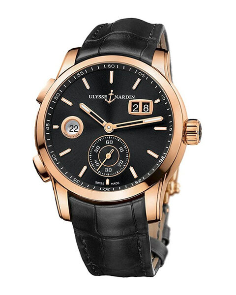 Ulysse Pre-owned Nardin Dual Time Manufacture 42mm Men's Watch