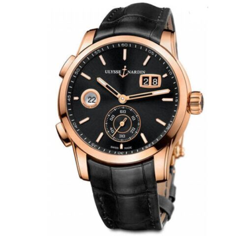 Ulysse Nadrin Dual Time Manufacture Pre-owned