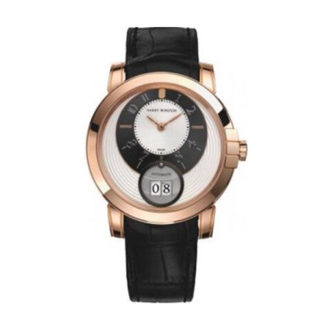 Harry Winston Pre-owned Midnight 42 Mm Big Date