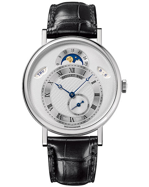 Breguet Pre-owned Classique Day-Date Moonphase Men's Watch