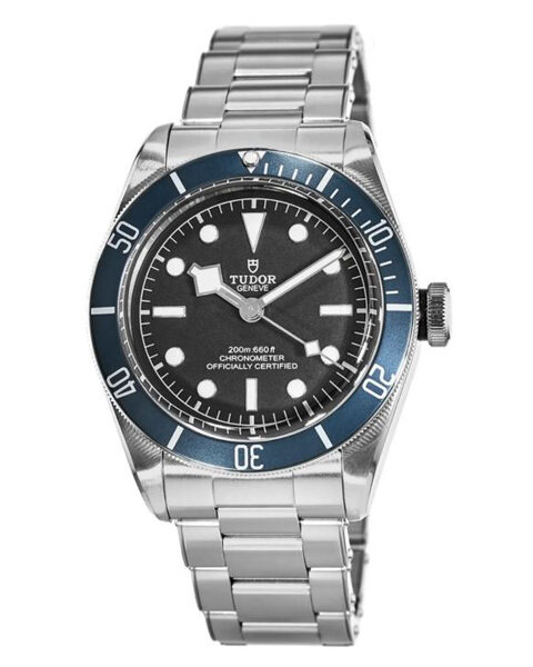Tudor Pre-owned Heritage Black Bay Steel Automatic Black Dial Chronometer Men's Watch