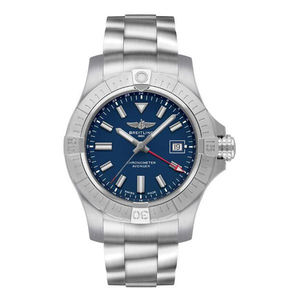 Breitling Pre-owned Avenger Automatic Gmt 45