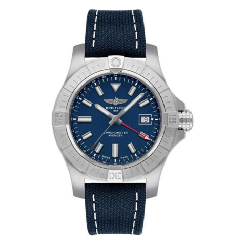 Breitling Pre-owned Avenger Automatic Gmt 45 Men's Watch