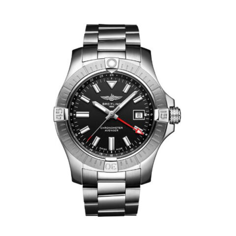 Breitling Pre-owned Avenger Automatic GMT 43 Men's Watch