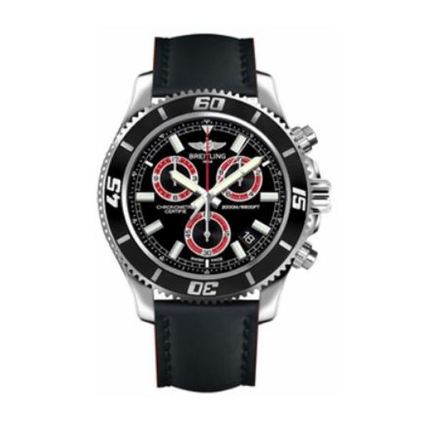 Breitling Pre-owned Limited Edition Superocean Chronograph Black