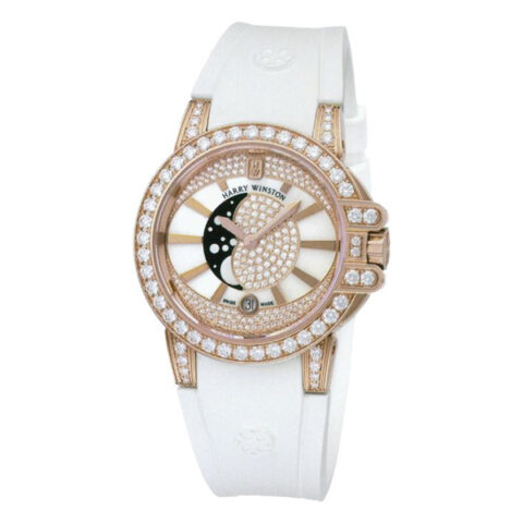 Harry Winston Pre-owned Ocean Lady Moon Phase