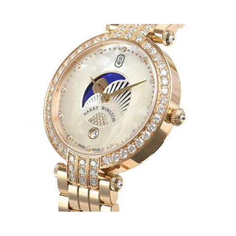 Harry Winston Pre-owned Premier Moon Phase 36mm