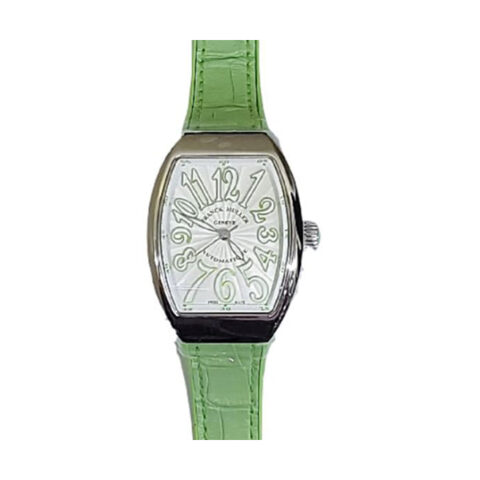 Franck Muller Pre-owned Vanguard Automatic Light Strap Ladies Watch