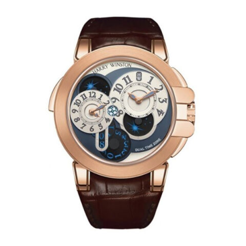 Harry Winston Pre-owned Ocean Dual Time Watch