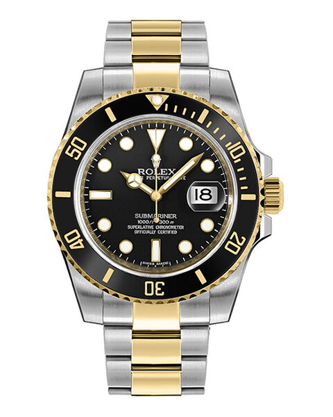 Rolex Pre-owned Submariner Date 40mm Men's Watch