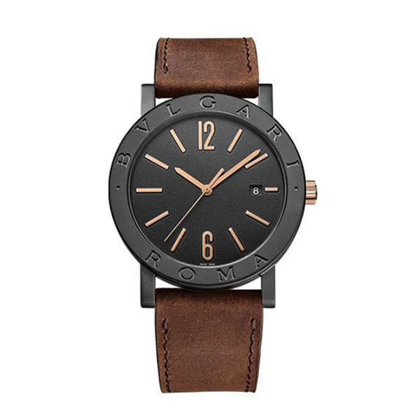 Bvlgari Pre-owned Roma Cities Special Edition Men's Watch