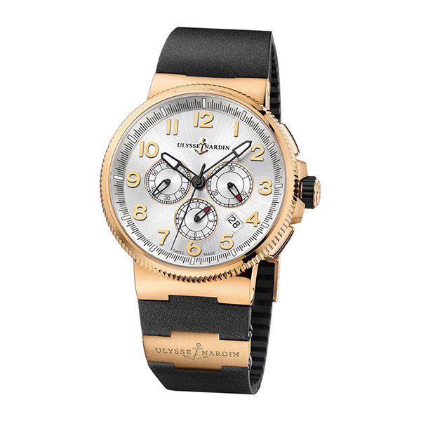 Ulysse Nardin Pre-owned Marine Chronograph Manufacture 43mm Men's Watch