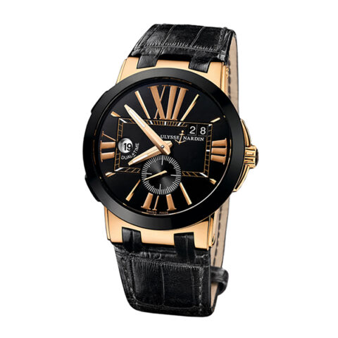 Ulysse Nardin Pre-owned Executive Dual Time 43mm Men's Watch