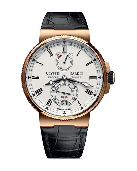 Ulysse Nardin Pre-owned Marine Chronometer Limited Edition Men's Watch