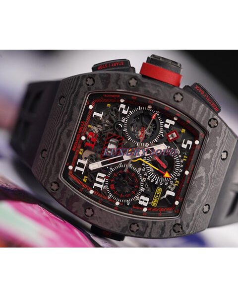 Richard Mille Pre-Owned GMT Flyback Chronograph 12th Anniversary 1st Boutique Edition Men's Watch