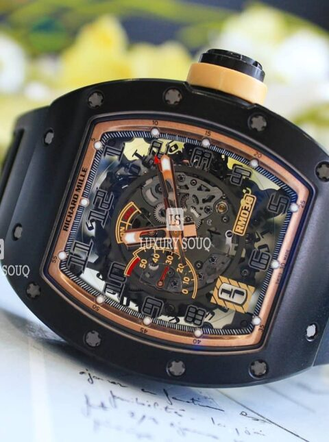 Richard Mille Pre-owned Asia Boutique Exclusive Limited Edition  Rm030 Am Ca Men's Watch